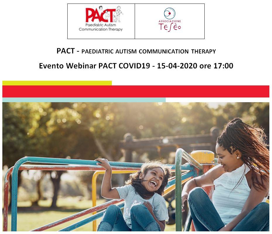 Evento Webinar PACT COVID19 - 15-04-2020 ore 17:00